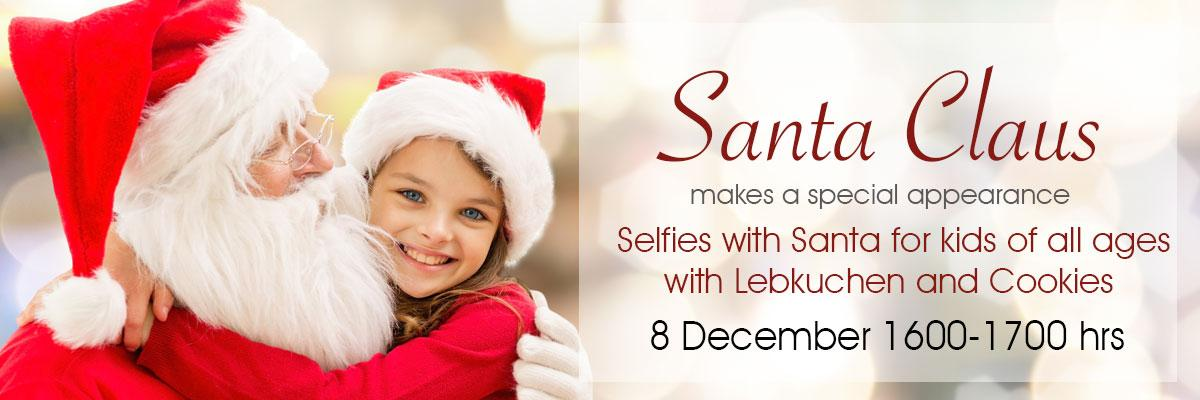 Santa Selfies for kids of all ages