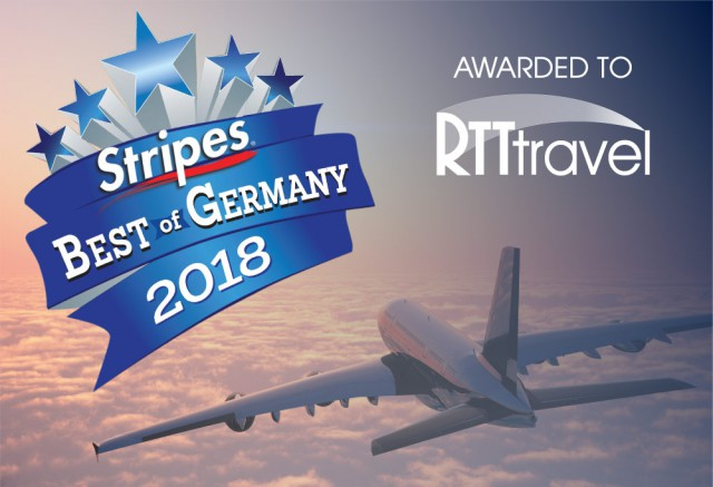 RTT Wins Stars & Stripes Readers Choice 2018