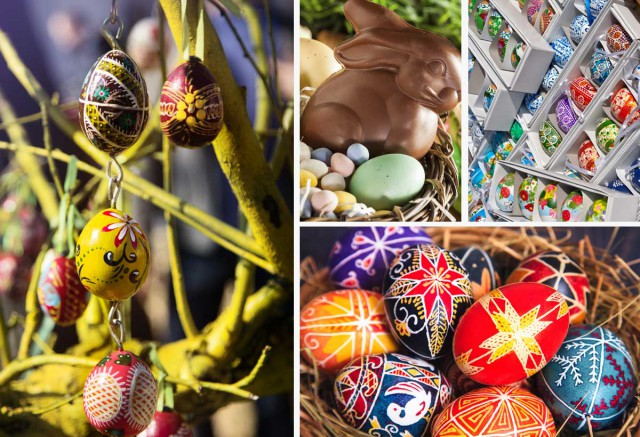 Easter Markets & Easter Egg Madness