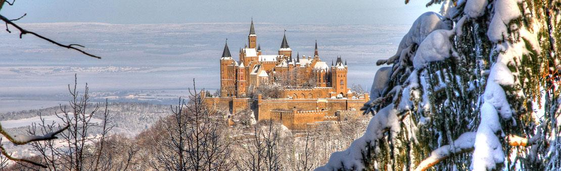 Hohenzollern Castle at Christmas