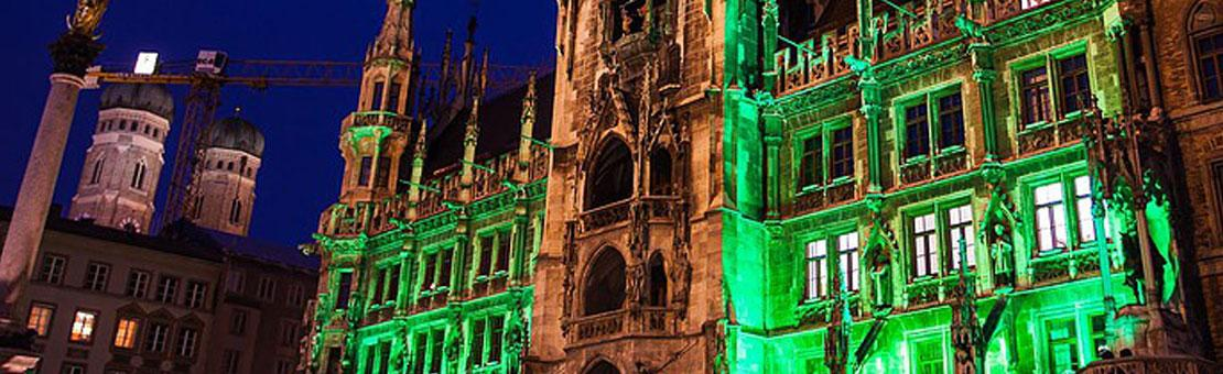 Munich on St Patricks Day