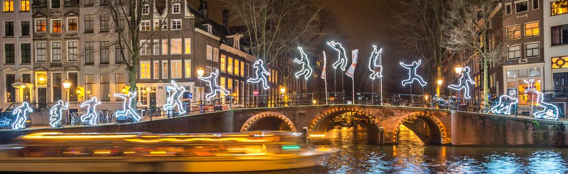 Amsterdam during the Holidays