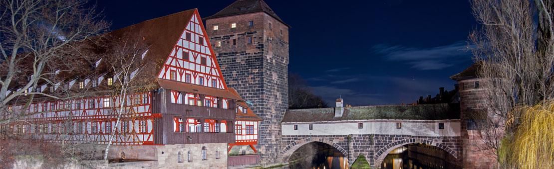 Nurnberg Winter Night