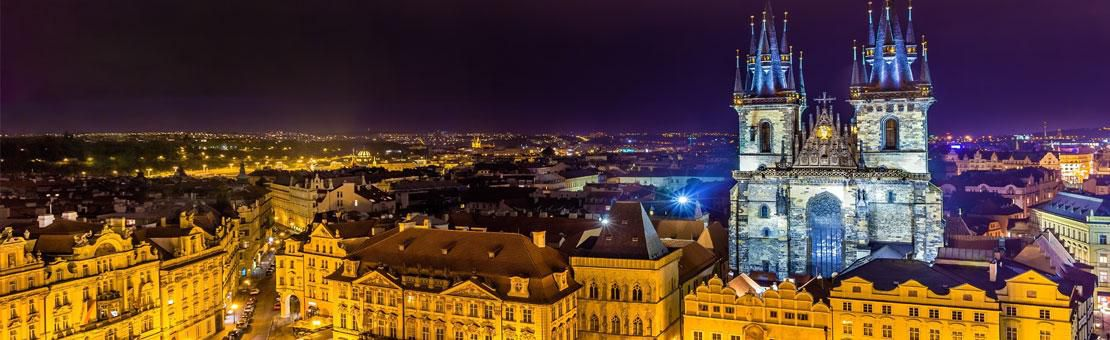Prague Night Rathouse