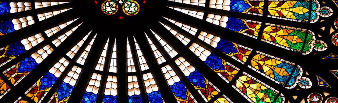 Stained Glass Strasbourg Cathedral