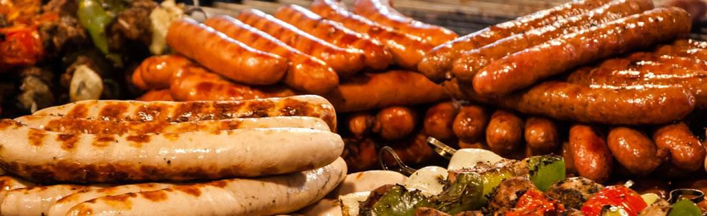 Sausages and fest food