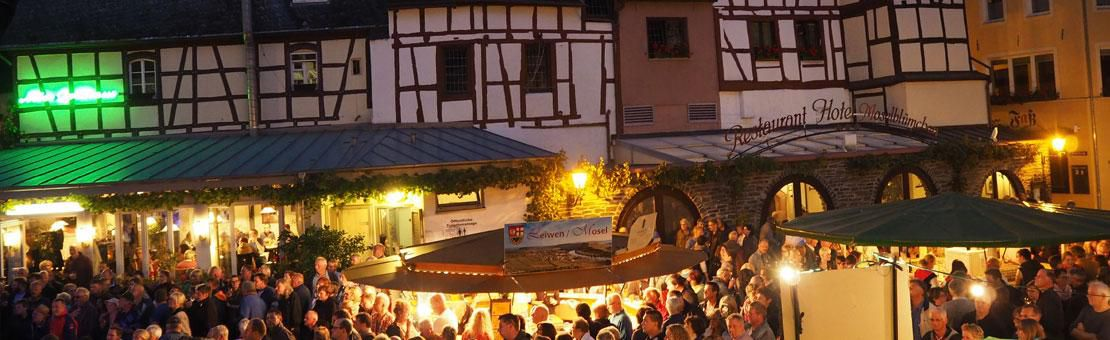 Winefest Bernkastel Kues Evening